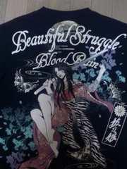 セール 新品 [ 抜刀娘 ]桜に妃那 長袖 Tシャツ スカジャン 好きにも