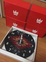 新品 ロデオクラウンズ   ノベルティ掛け時計
