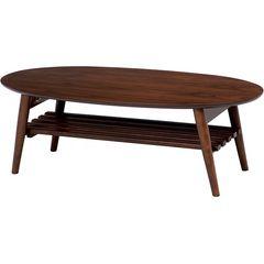 折れ脚テーブル(ブラウン) MT-6922BR
