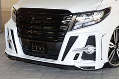 ZEUS 塗装済スポイラーアルファード GGH/AGH/AYH30系 Sグレード