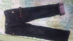 ダブルBジーンズ。美品110cm