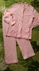 激カワッ(*´-`)レトロ柄ピンクの可愛いパジャマ(^ー^)