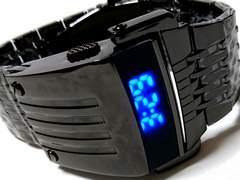 新品・未使用 1スタ★Geekthink かなりゴツい フルメタル腕時計