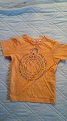 ユニクロ110スヌーP半袖Tシャツ