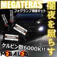 mLED】レクサスGS460前期後期/フォグランプHIDキット/HB4/6000K