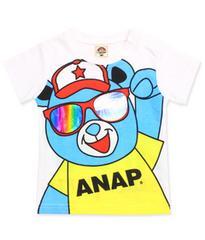 ♪新品 ANAPキッズ サングラスTシャツ 120�p♪