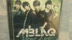 激安!超レア!☆MBLAQ/Your Luv☆初回限定盤/CD+DVD美品!