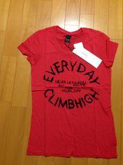 マウジー赤Tシャツ新品