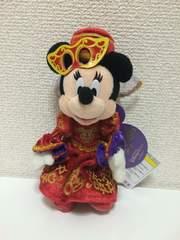 ミニーハロウィン2012ディズニーぬいばぬいぐるみバッジ☆7