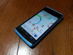 即落/即発!!美中古品 N-03E Disney Mobile ブルー