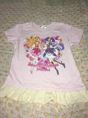 めちゃ可愛い^_−☆魔法使いプリキュアTシャツ110�p美品