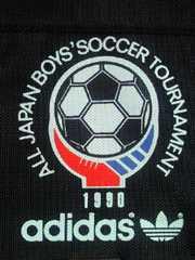 adidas アディダス 全日本少年サッカートーナメント ミニ ボストンバッグ ブラック BAG