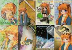 ○沢渡真琴 トレーディングカード8枚(Kanon)