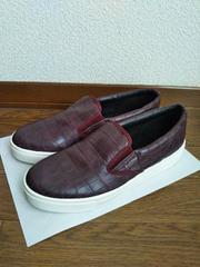 新品同様 TOPSHOP イタリア製 スリッポン  SLIP ON 靴