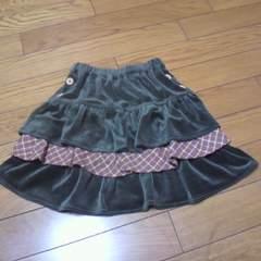 新品三段ミニスカート110�a