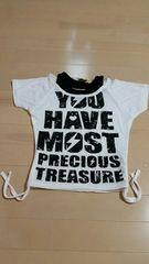 女の子Tシャツ110�a新品未使用