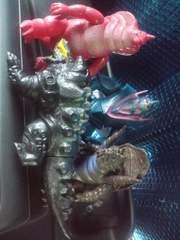 電光超人グリッドマン怪獣4体セット!ウルトラマン系