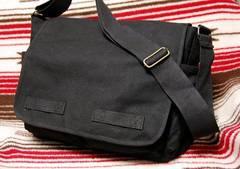 ROTHCO社製・ブラック・メッセンジャーバッグ新品/24黒ロスコ