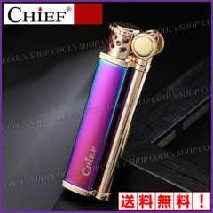 マジョーラ CHIEF スリムデザイン オイルライター 日本未発売 紫