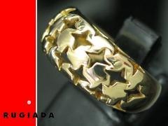ルジアダ RUGIADA 18金リング K18 4℃ 8号★2761
