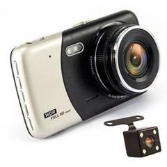 ドライブレコーダー リアカメラ付き 2カメラ4.0インチ1080P