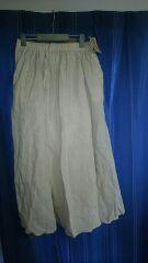 イージーマキシスカート Mサイズ ウエスト62〜68