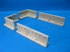 ◆◇◆塀の模型★直線型5.7�p2個&L型3.4�p×3.4�p2個◆◇◆