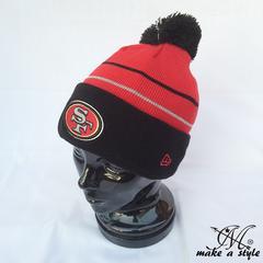 NEWERA ニューエラ 49ERS ニットキャップ ニット帽 NFL B系 419