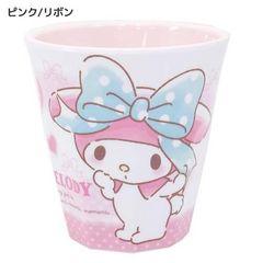 ◆マイメロディ メラミンカップ/7th【ピンク/リボン】