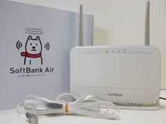 7015☆1スタ☆SoftBank Air 簡単置くだけインターネット 家庭向け無線ルーター