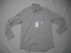 fy920 男 CK CALVIN KLEIN カルバンクライン 刺繍シャツ Mサイズ