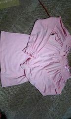 新品 リズリサ LIZ LISA ピンク色 長袖 トップス