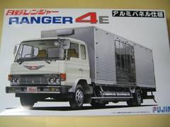 フジミ 1/32 はたらくトラック No.5 日野レンジャー 4E アルミパネル仕様 新品