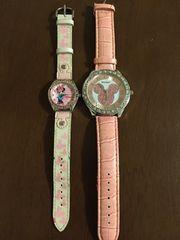 《中古 腕時計》ミッキー&ミニー腕時計セット