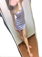 *薄紫のちゅるてろベビードール*
