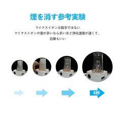 空気清浄機 車 除菌消臭 イオン発生器 シガーソケット 黒