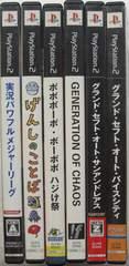プレステ,2/ゲームソフトDVD/6種まとめてどうぞ中古美品!!