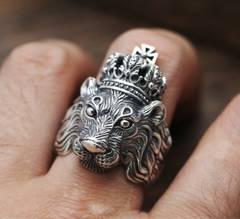 1スタ 王様ライオンのリング