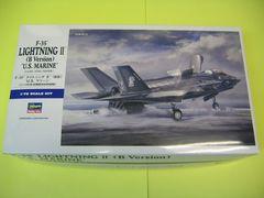 """ハセガワ 1/72 E46 F-35 ライトニング�U(B型)""""U.S.マリーン"""" 新金型"""