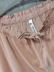 ●niko and …●細コーデュロイ スカートみたいなサルエルパンツ
