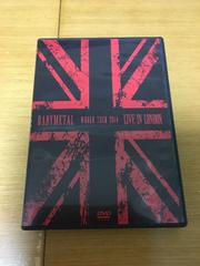 BABYMETAL LIVE IN LONDON DVD