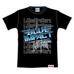 三代目JSB BLUE IMPACTファイナルTシャツ 黒 M 登坂広臣HIGH&LOW