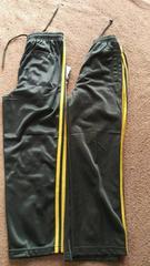新品130cm 黒×ゴールドのジャージ 2点セット