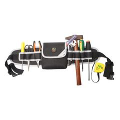 工具腰袋 ウエスト ポーチ 電工用 ベルト調節可能