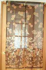 送料無料 更紗のれん 和柄暖簾 飲食店装飾 模様替え 日本