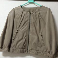 ラムスキンレザー ジャケット  未使用 定価4万超