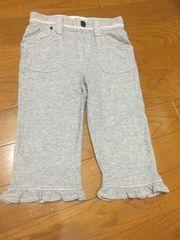 美品☆baby gap toddler100☆グレースウェットクロップドパンツ