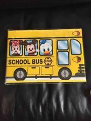 ミッキーミニーバス型収納ボックス/イエロー