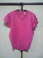 ピンク 半袖