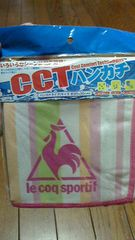 新品★le coq sportif 濡らし絞るパッと振る『CCT冷感ハンカチ』